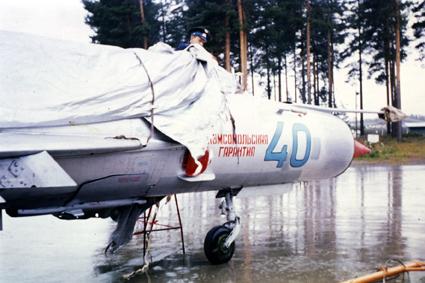 Нажмите на изображение для увеличения.  Название:Finland-1974 MiG-21bis_no40_02.jpg Просмотров:1709 Размер:153.1 Кб ID:58942